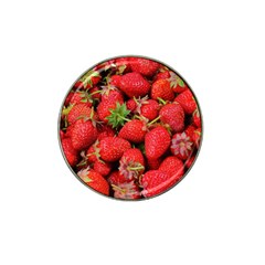 Strawberries 1 Hat Clip Ball Marker (10 Pack)