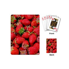 Strawberries 1 Playing Cards (mini)