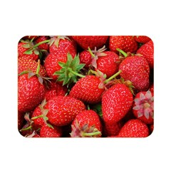 Strawberries 1 Double Sided Flano Blanket (mini)