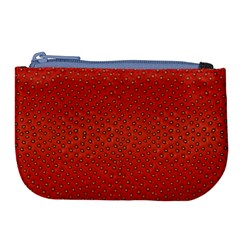 Strawberries 2 Large Coin Purse