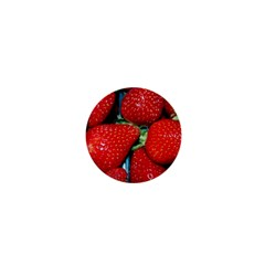 Strawberries 3 1  Mini Buttons
