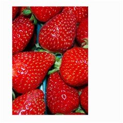Strawberries 3 Large Garden Flag (two Sides)