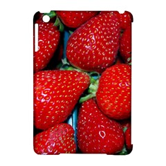 Strawberries 3 Apple Ipad Mini Hardshell Case (compatible With Smart Cover)