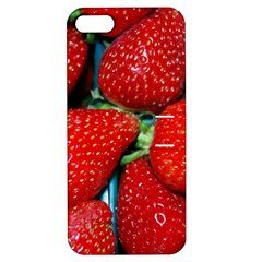 Strawberries 3 Apple Iphone 5 Hardshell Case With Stand