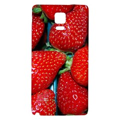 Strawberries 3 Galaxy Note 4 Back Case