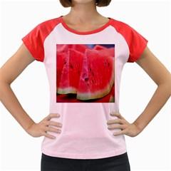 Watermelon 1 Women s Cap Sleeve T Shirt