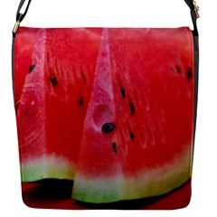 Watermelon 1 Flap Messenger Bag (s)