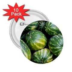 Watermelon 2 2 25  Buttons (10 Pack)