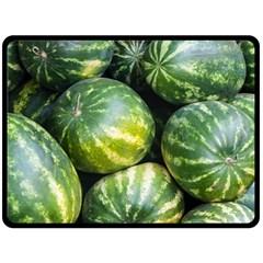 Watermelon 2 Fleece Blanket (large)