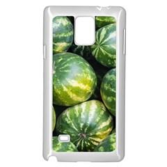 Watermelon 2 Samsung Galaxy Note 4 Case (white)