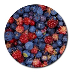 Wild Berries 1 Round Mousepads