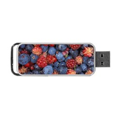 Wild Berries 1 Portable Usb Flash (one Side)