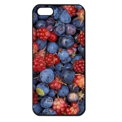 Wild Berries 1 Apple Iphone 5 Seamless Case (black)