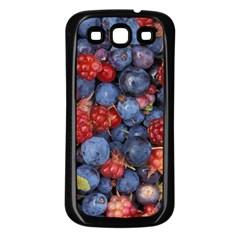 Wild Berries 1 Samsung Galaxy S3 Back Case (black)