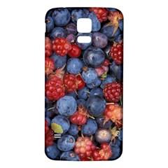 Wild Berries 1 Samsung Galaxy S5 Back Case (white)