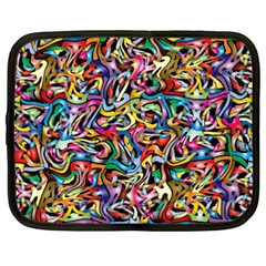 Artwork By Patrick Colorful 8 Netbook Case (xxl)