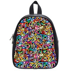 Artwork By Patrick Colorful 8 School Bag (small)