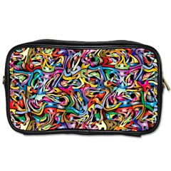 Artwork By Patrick Colorful 8 Toiletries Bags