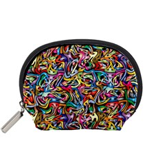 Artwork By Patrick Colorful 8 Accessory Pouches (small)