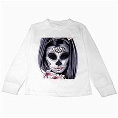 Day Of The Dead Kids Long Sleeve T Shirt