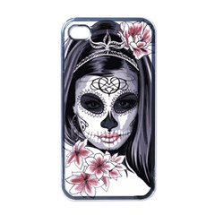 Day Of The Dead Apple Iphone 4 Case (black)