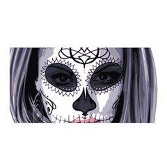 Day Of The Dead Satin Wrap