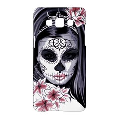 Woman Sugar Skull Samsung Galaxy A5 Hardshell Case