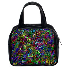 Artwork By Patrick Colorful 9 Classic Handbags (2 Sides)