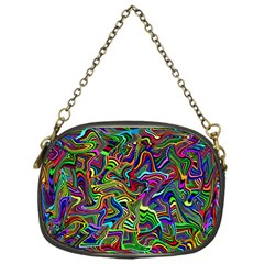 Artwork By Patrick Colorful 9 Chain Purses (one Side)