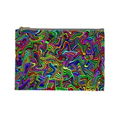 Artwork By Patrick Colorful 9 Cosmetic Bag (large)