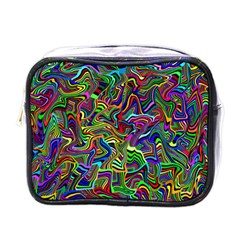 Artwork By Patrick Colorful 9 Mini Toiletries Bags