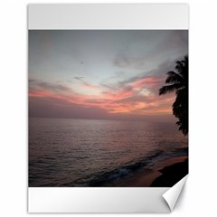Red Sunset Rincon Puerto Rico Canvas 18  X 24