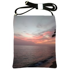 Red Sunset Rincon Puerto Rico Shoulder Sling Bags