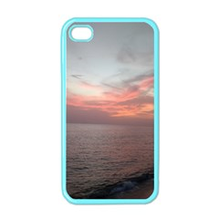 Red Sunset Rincon Puerto Rico Apple Iphone 4 Case (color)