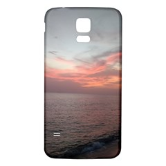 Red Sunset Rincon Puerto Rico Samsung Galaxy S5 Back Case (white)