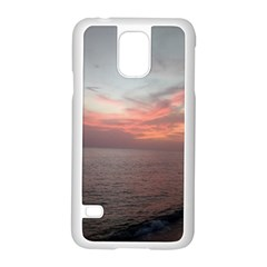Red Sunset Rincon Puerto Rico Samsung Galaxy S5 Case (white)