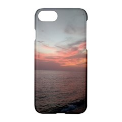 Red Sunset Rincon Puerto Rico Apple Iphone 7 Hardshell Case
