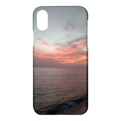 Red Sunset Rincon Puerto Rico Apple Iphone X Hardshell Case