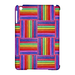 Artwork By Patrick Squares Apple Ipad Mini Hardshell Case (compatible With Smart Cover)