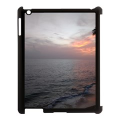 Sunset Apple Ipad 3/4 Case (black)