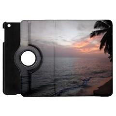 Sunset Apple Ipad Mini Flip 360 Case