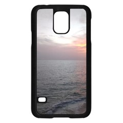 Sunset Samsung Galaxy S5 Case (black)