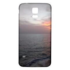 Sunset Samsung Galaxy S5 Back Case (white)