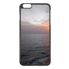 Sunset Apple Iphone 6 Plus/6s Plus Black Enamel Case