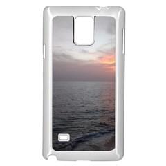 Sunset Samsung Galaxy Note 4 Case (white)