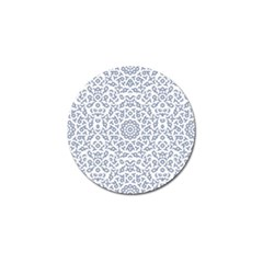 Radial Mandala Ornate Pattern Golf Ball Marker (4 Pack)