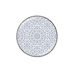 Radial Mandala Ornate Pattern Hat Clip Ball Marker