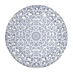 Radial Mandala Ornate Pattern Ornament (round Filigree)