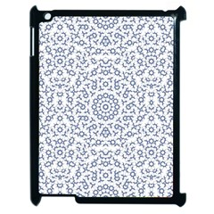 Radial Mandala Ornate Pattern Apple Ipad 2 Case (black)