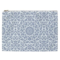 Radial Mandala Ornate Pattern Cosmetic Bag (xxl)